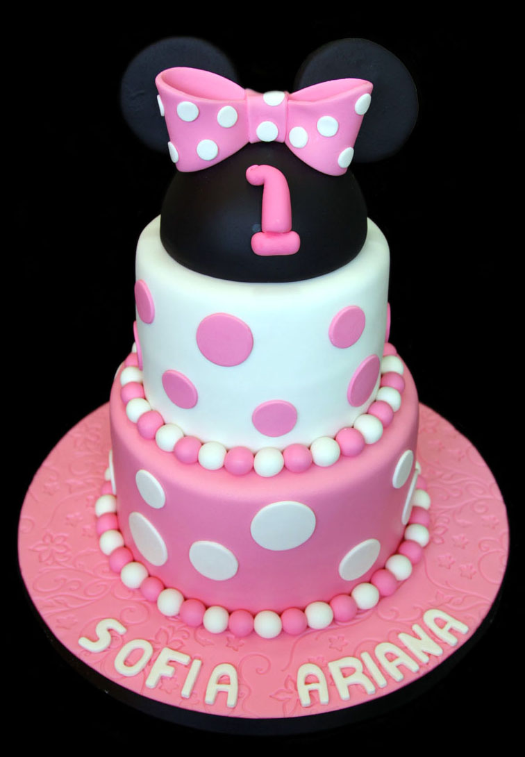 Sugarbabies Mickey Minnie Mouse Birthday Cake Gallery