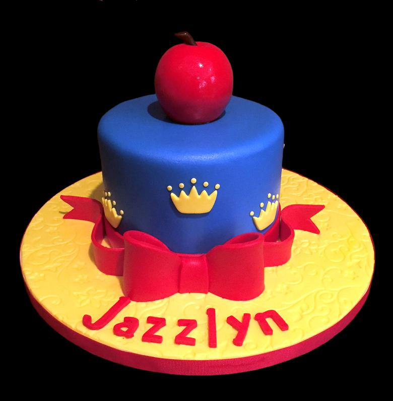 Snow White Poison Apple Birthday Cake