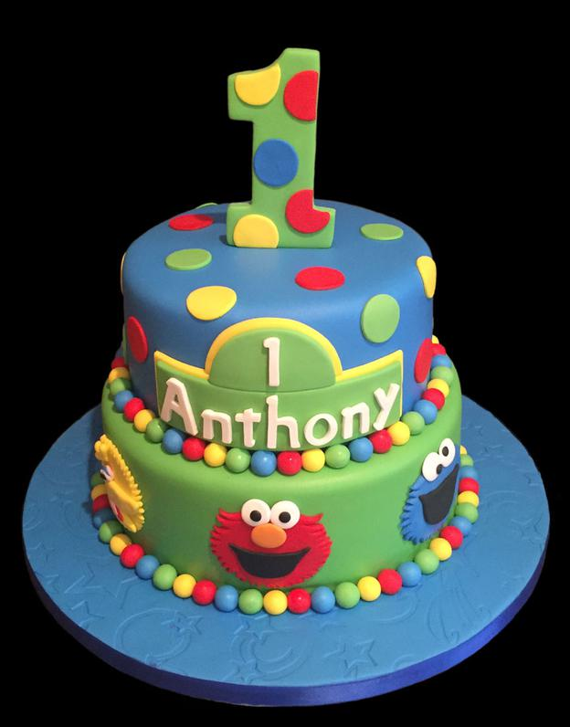 Sesame Street Custom Birthday Cake