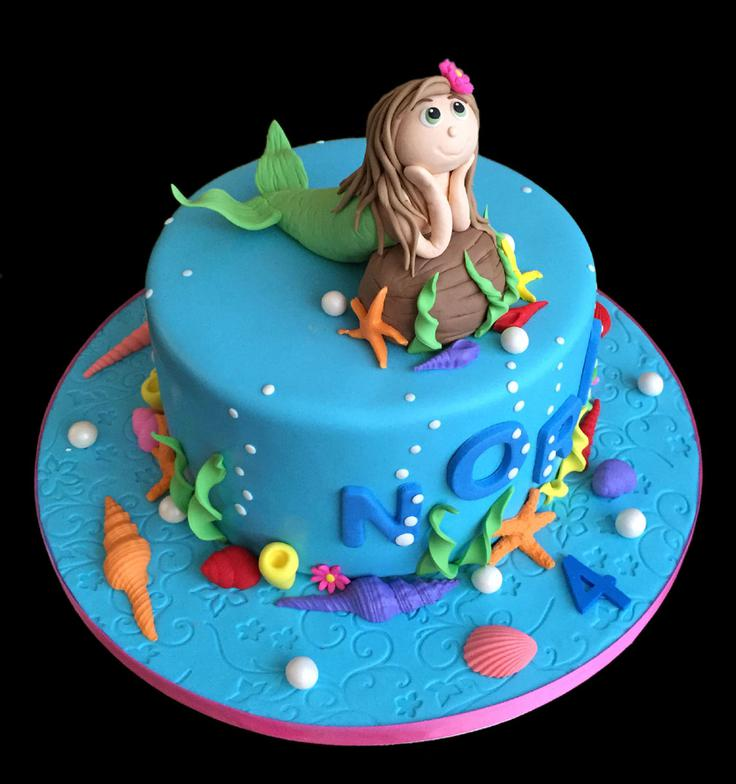 Mermaid Custom Birthday Cake