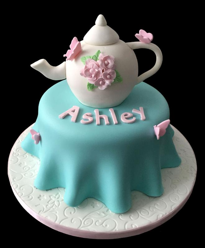 Tea Party Custom Specialty Cake