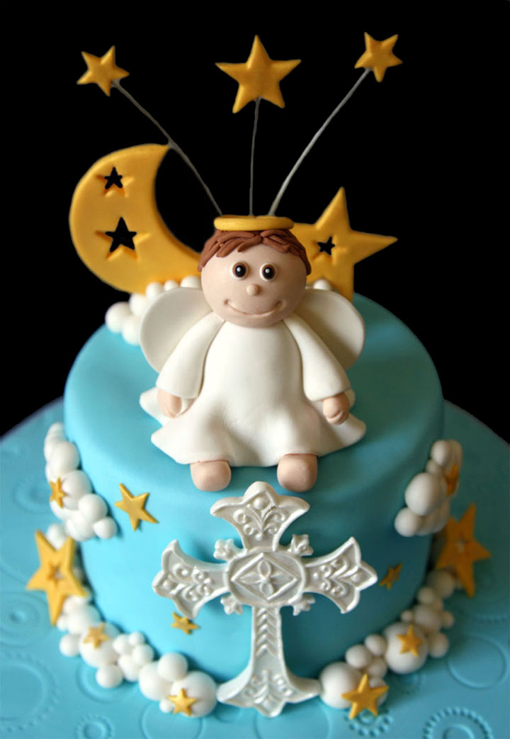 Little Angel Custom Christening Cake