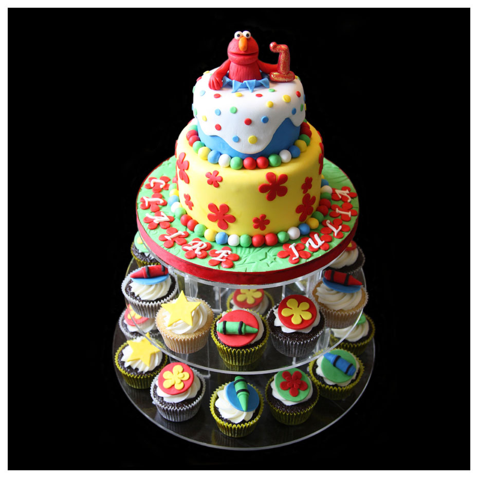 Elmo Birthday Cake Bakery Image Inspiration of Cake and Birthday